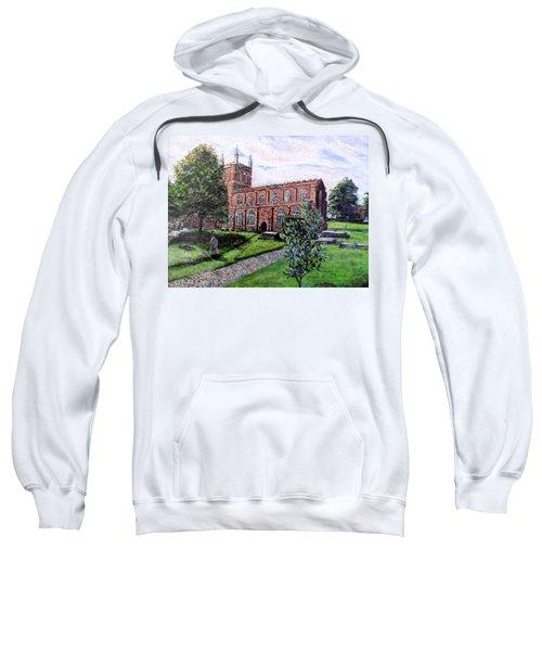 Holy Cross Church Crediton Devon Uk Sweatshirt