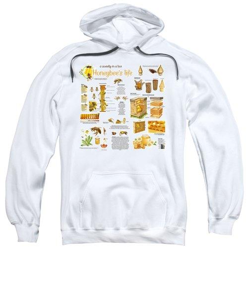 Honey Bees Infographic Sweatshirt