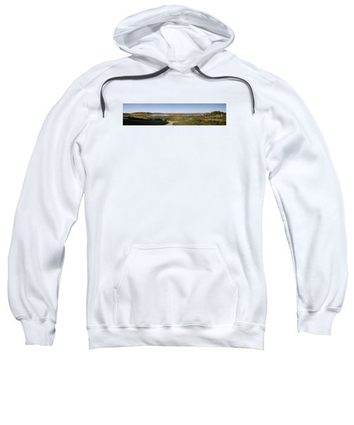 Sweatshirt featuring the photograph Horicon Marsh Wildlife Refuge by Ricky L Jones
