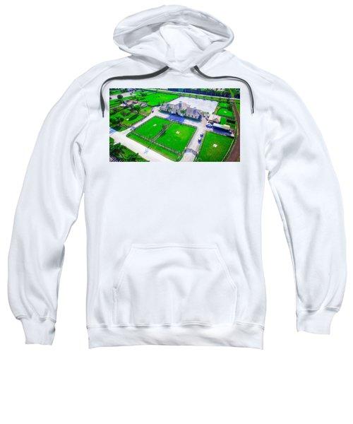 Horse Farm Aerial Sweatshirt