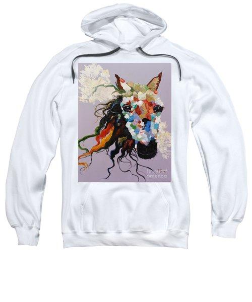 Puzzle Horse Head  Sweatshirt