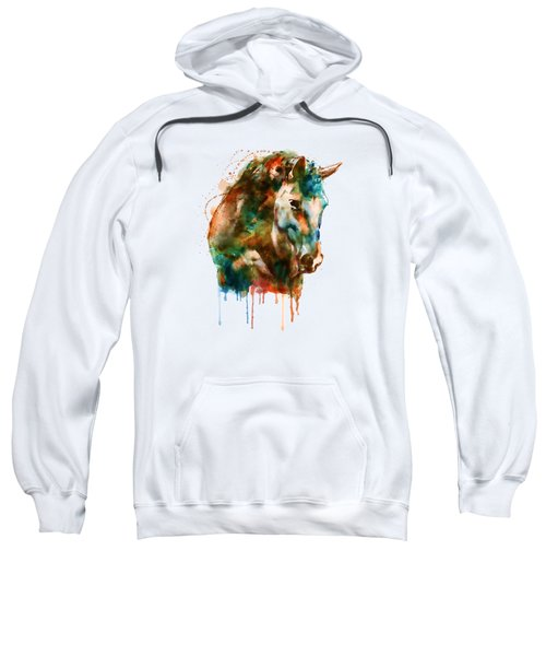 Horse Head Watercolor Sweatshirt