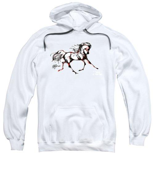 Horse In Extended Trot Sweatshirt