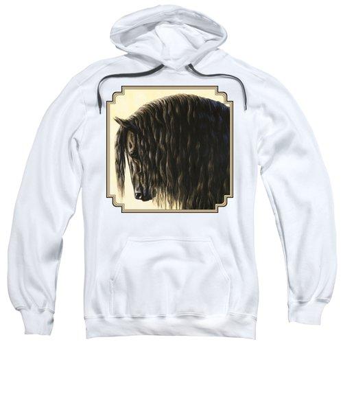 Horse Painting - Friesland Nobility Sweatshirt