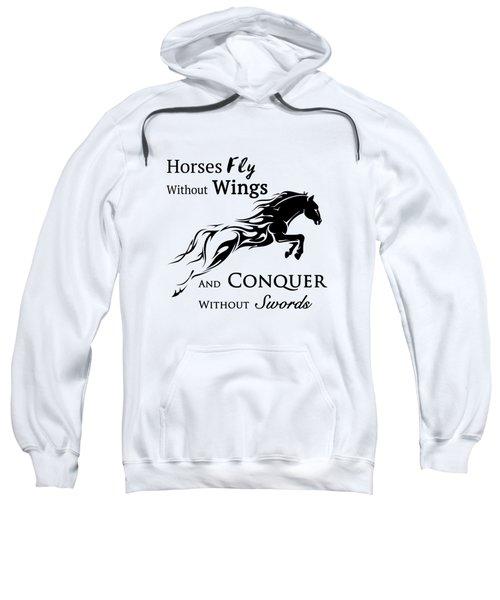 Horses Fly Sweatshirt