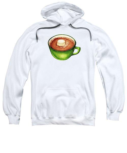 Hot Cocoa Pattern Sweatshirt