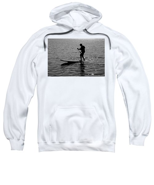 Hot Moves On A Sup Sweatshirt