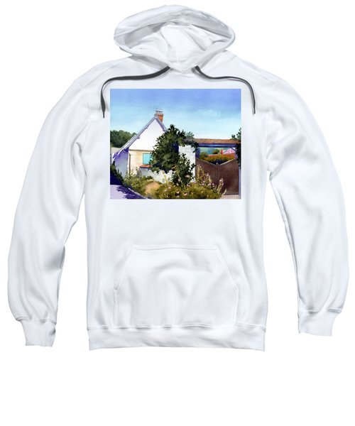 House At Giverny Sweatshirt