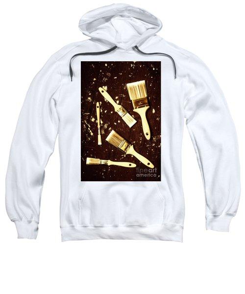 House Paint Abstract Sweatshirt