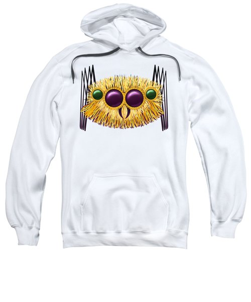 Huge Hairy Spider Sweatshirt by Michal Boubin