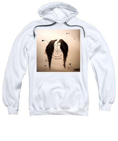 Huginn And Muninn  Sweatshirt