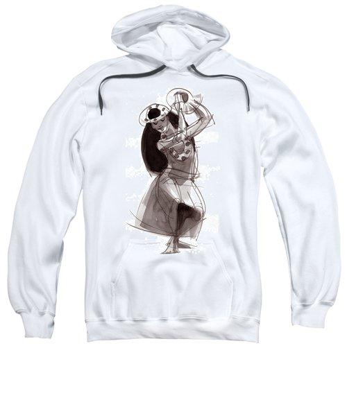 Hula Dancer Alika Sweatshirt