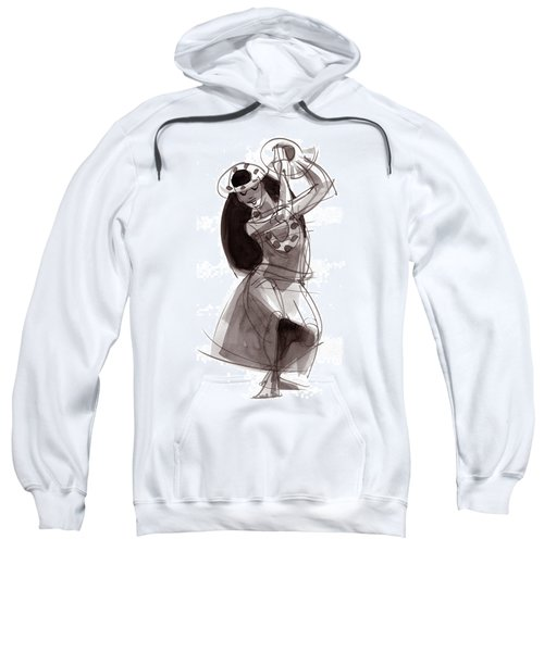 Hula Dancer Alika Sweatshirt