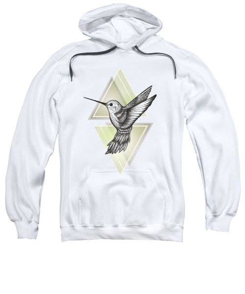 Hummingbird Sweatshirt by Barlena