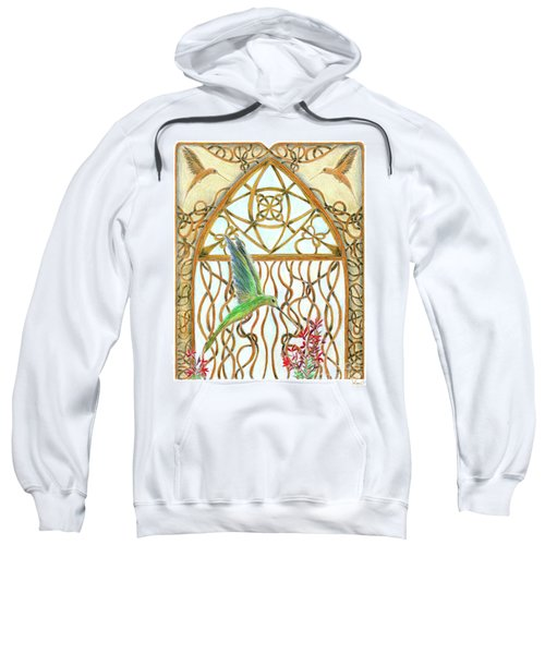 Hummingbird Sanctuary Sweatshirt