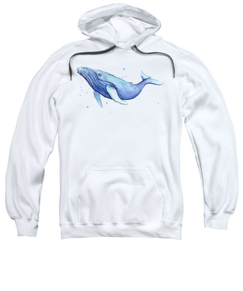 Humpback Whale Watercolor Sweatshirt
