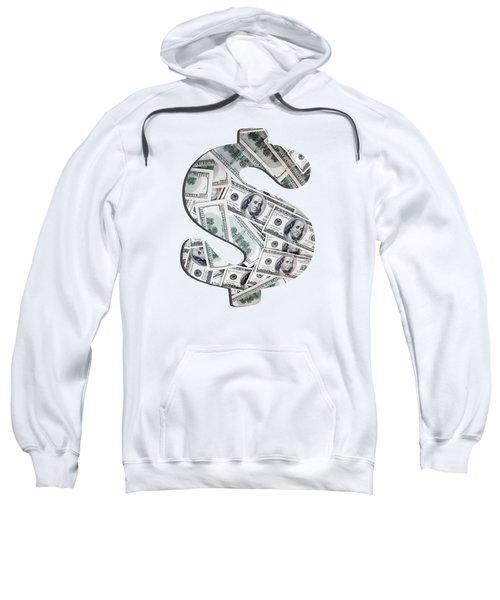Hundred Dollar Bills Sweatshirt