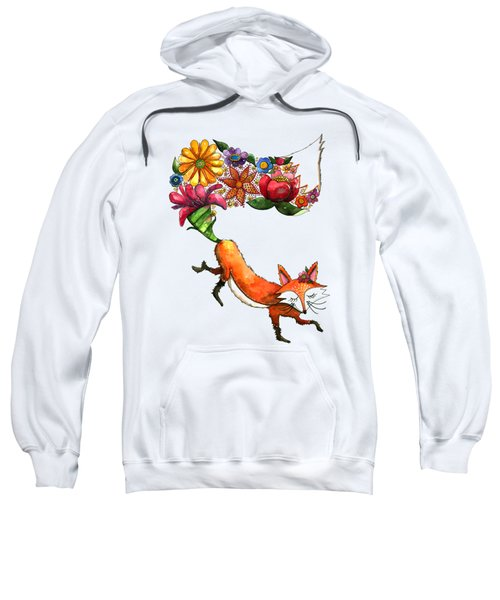 Hunt Flowers Not Foxes Sweatshirt