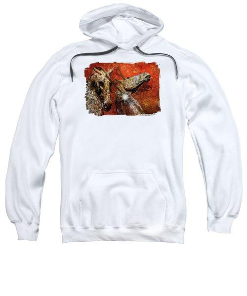 I Believe Sweatshirt by Terry Fleckney