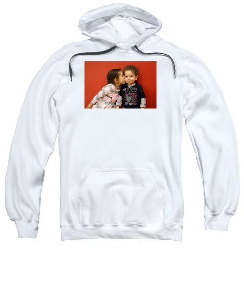 I Give You A Kiss Sweatshirt