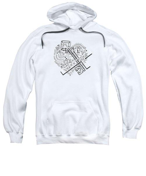 I Give You The Key Of My Heart Sweatshirt