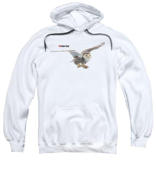 I Love Snowy Owls T-shirt Sweatshirt
