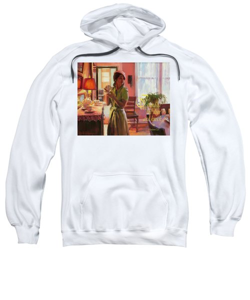 I Stand At The Door And Knock Sweatshirt