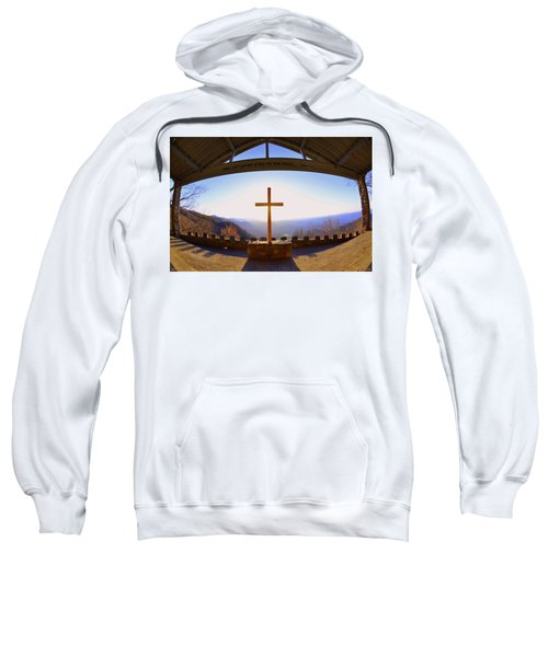 I Will Lift My Eyes To The Hills Psalm 121 1 Sweatshirt