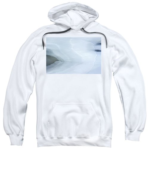 Ice Abstract 3 Sweatshirt