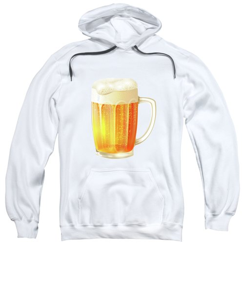 Ice Cold Beer Pattern Sweatshirt by Little Bunny Sunshine