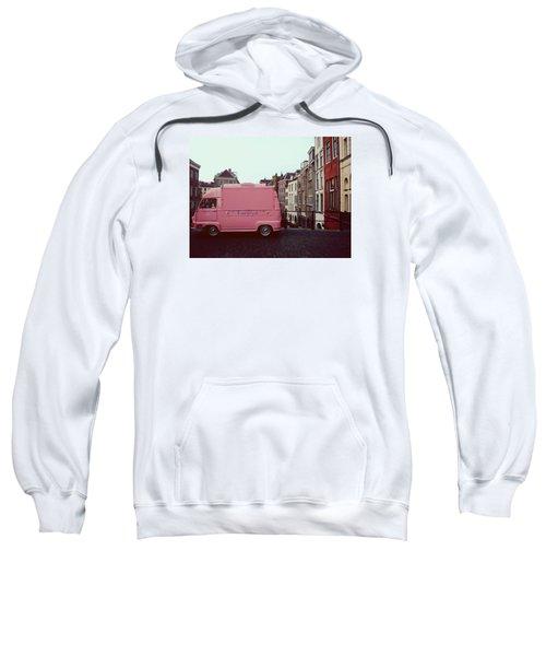 Ice Cream Car Sweatshirt by Myrthe V