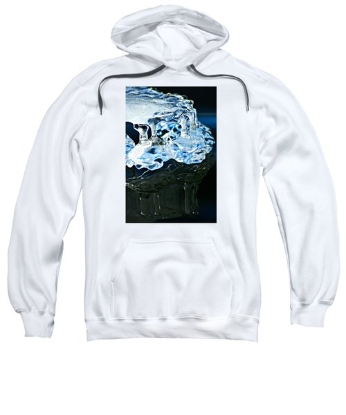 Ice Formation 11 Sweatshirt