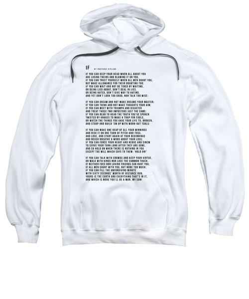 If #minimalism Sweatshirt