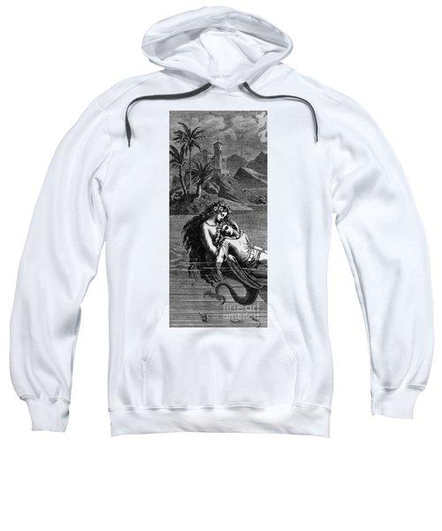 Illustration For The Little Mermaid Sweatshirt