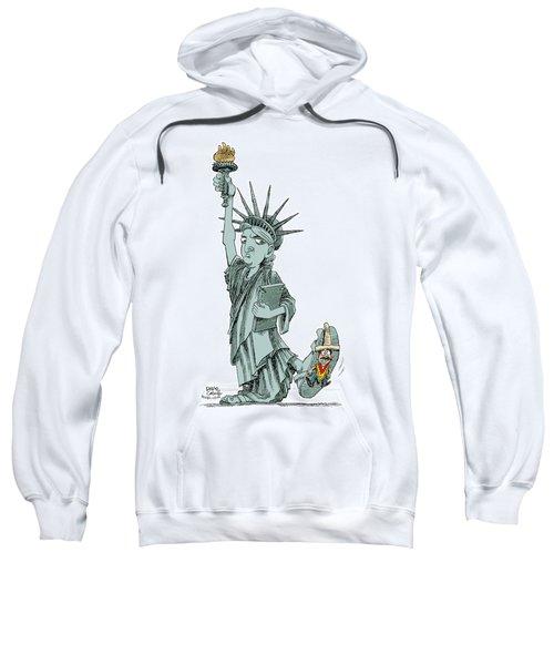 Immigration And Liberty Sweatshirt