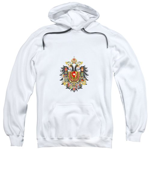 Imperial Coat Of Arms Of The Empire Of Austria-hungary Transparent Sweatshirt