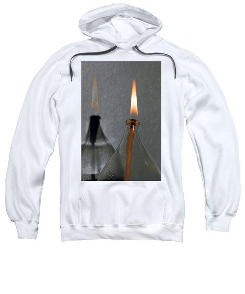 Impossible Shadow Oil Lamp Sweatshirt