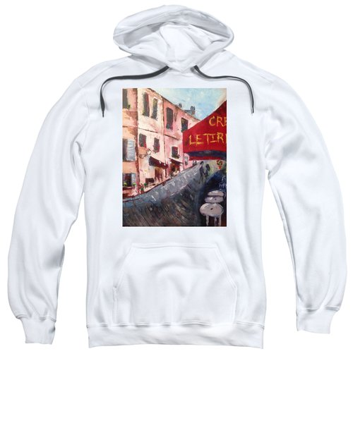 Impressions Of A French Cafe Sweatshirt