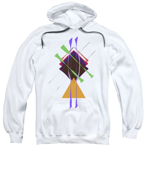 Improvised Geometry #3 Sweatshirt