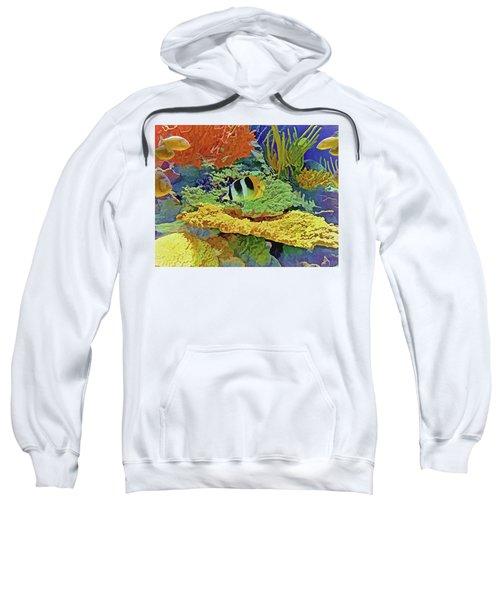 In The Coral Garden 10 Sweatshirt