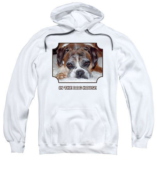 In The Dog House - White Sweatshirt