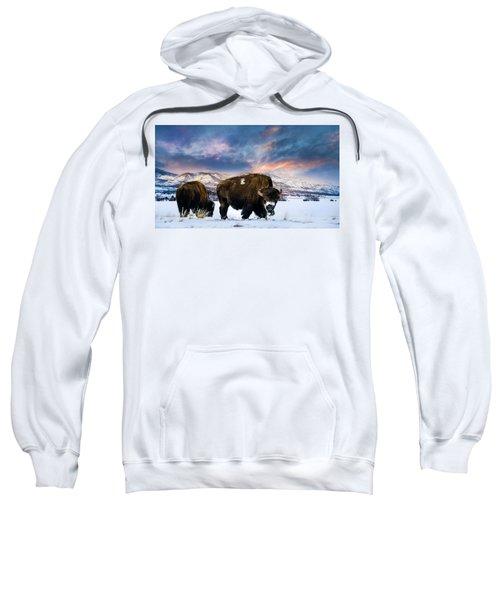 In The Grips Of Winter Sweatshirt