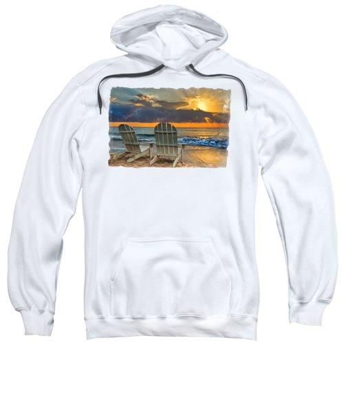 In The Spotlight Bordered Sweatshirt