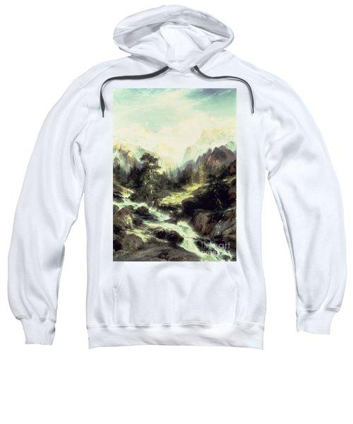 In The Teton Range Sweatshirt