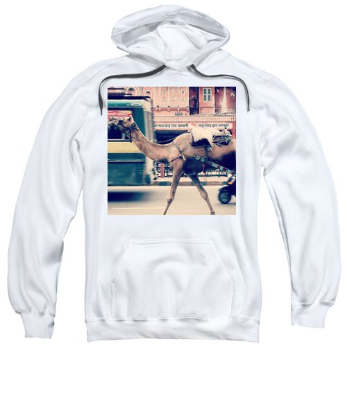 India - Where Even The Camels Overtake Sweatshirt