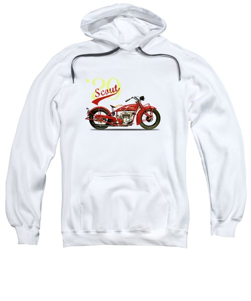 Indian Scout 101 1929 Sweatshirt by Mark Rogan