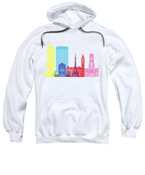 Indianapolis Skyline Pop Sweatshirt