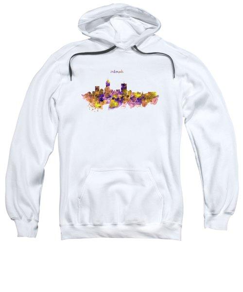 Indianapolis Skyline Silhouette Sweatshirt