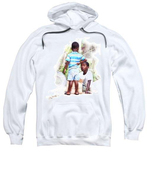 Indigenous Caribbean Kids In Panama Sweatshirt