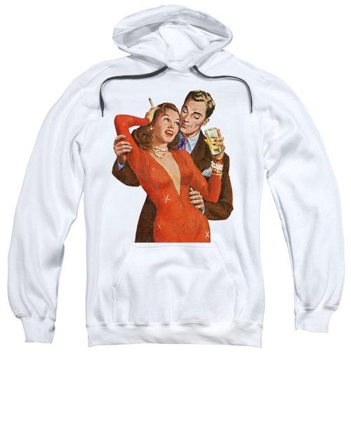 Sweatshirt featuring the digital art Indulge Me by Kim Kent